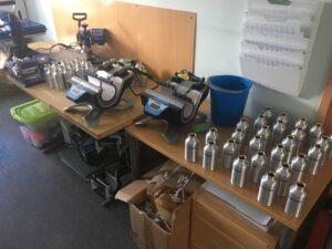 Joogipudelite valmistamine NetiKingis